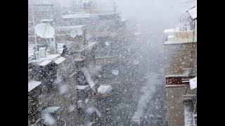 أخبار الآن - العاصفة أليكسا تؤثر على شمال السعودية وتوقع سقوط ثلوج