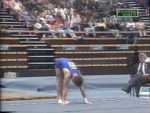 1995 South African International Gymnastics Challenge   - Cape Town, SA Pt 1