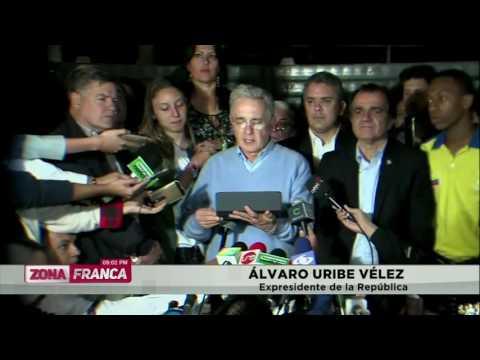 'La democracia ha sido superior a toda presión': Álvaro Uribe