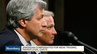 JPMorgan's Profit Up on Cost Cutting