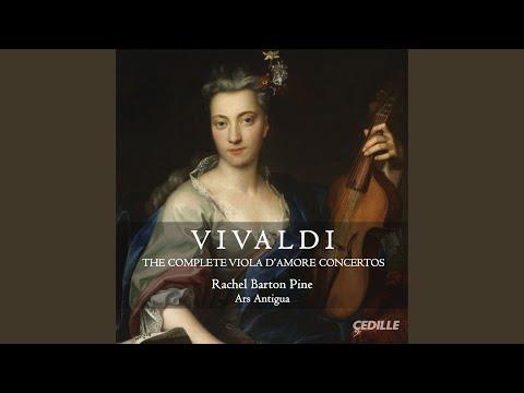 Viola d'amore Concerto in A Minor, RV 397: I. Vivace