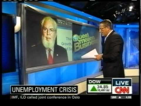CNN interviews Juan Somavia at ILO-IMF Oslo conference