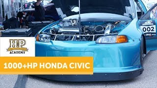 1100HP V6 Turbo Hatch | J Series Honda CIVIC [TECH TALK]