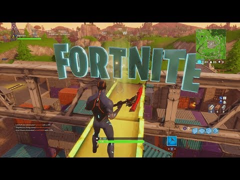 Fortnite: ALL LETTER LOCATIONS! Search F-O-R-T-N-I-T-E Letters