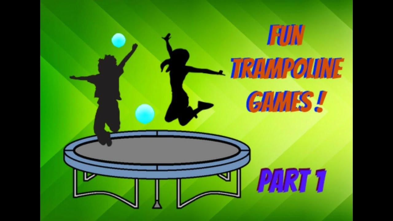 Fun Trampoline Games Youtube
