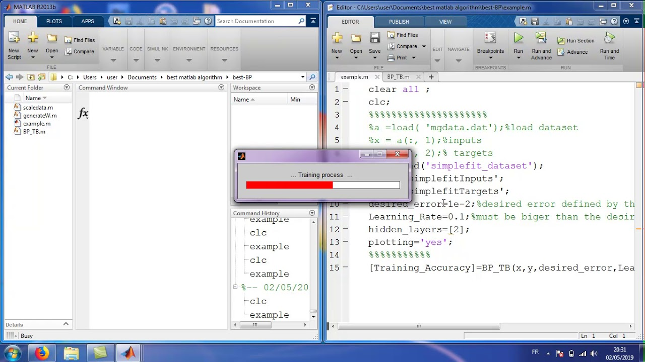 backpropagation for training an MLP - File Exchange - MATLAB Central
