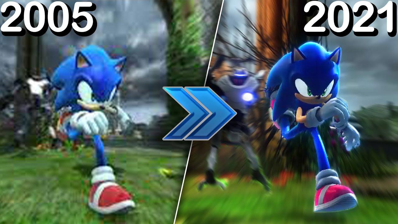 Sonic 06 TGS 2005 Demo Recreated!