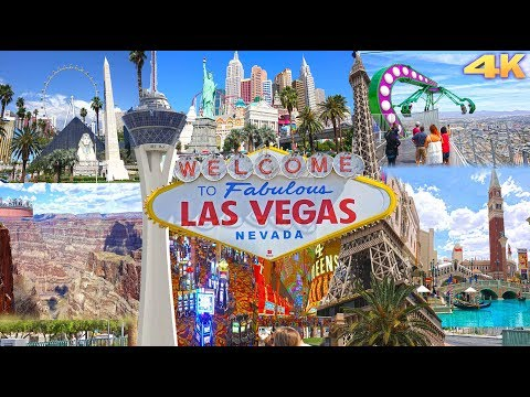 LAS VEGAS , NEVADA - BEST OF LAS VEGAS 4K