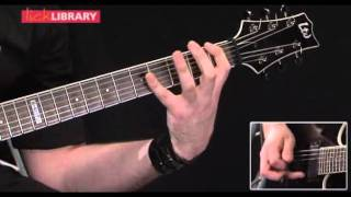 Metallica - Harvester Of Sorrow (Lick Library - Andy James)