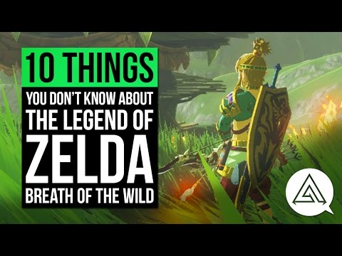 10 Things You Probably Don't Know About Zelda Breath of the Wild