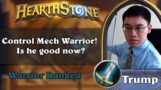 Trump Playing Control Mech Warrior! Is he good now?