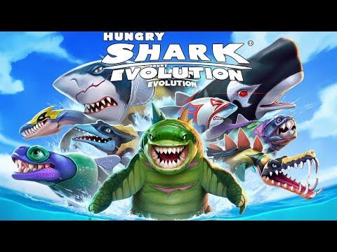 Hungry Shark Evolution САМАЯ ГОЛОДНАЯ АКУЛА