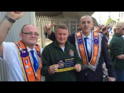 Britain First campaigns in Edinburgh to help save the union