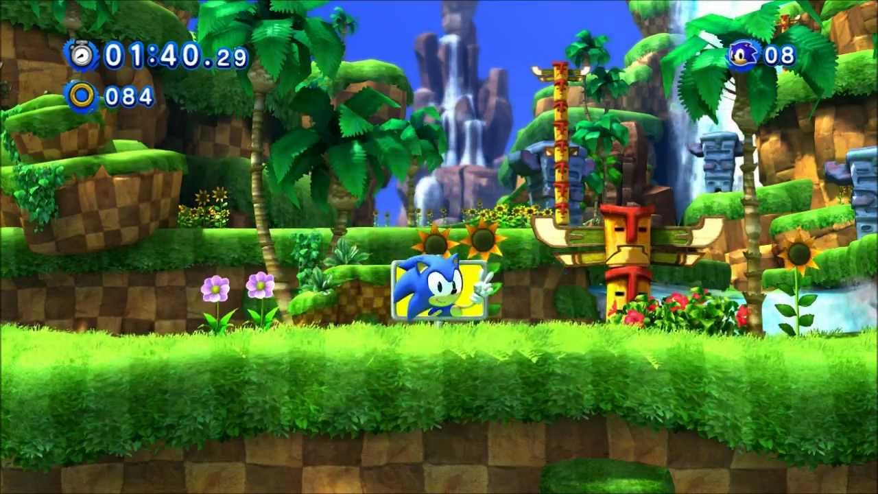 Image result for generations green hill zone