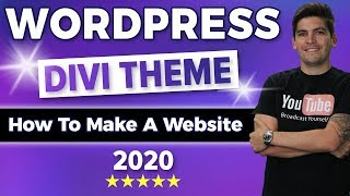 How To Make A Wordpress Website 2020 | Divi Theme Tutorial?(DIVI 4.0)?