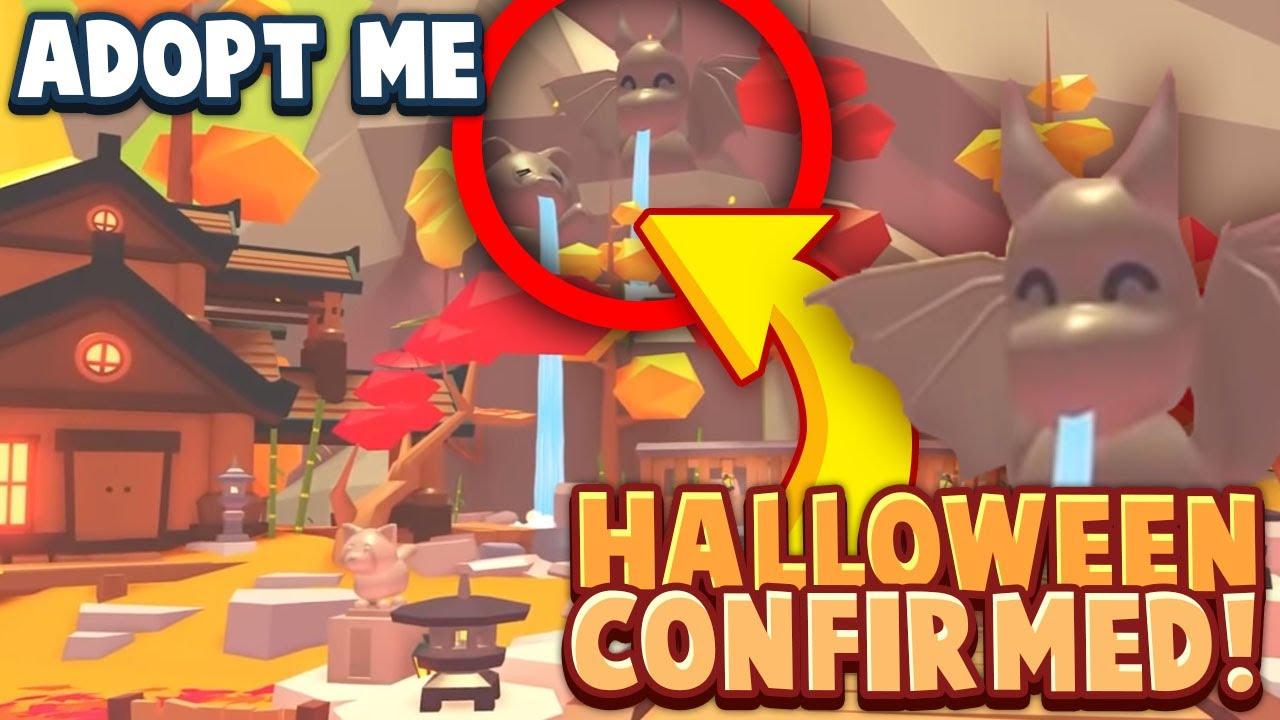 Halloween 2020 Update Confirmed Roblox Adopt Me New Halloween Update Release Youtube