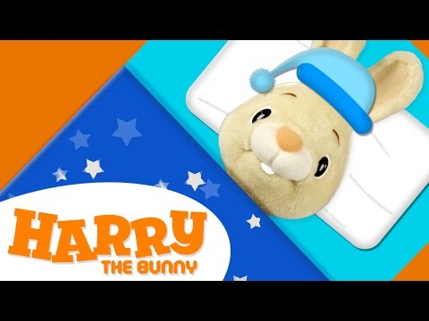 Bed Time with Harry | Learning Vocabulary for Children | Learn English for Kids on Harry the Bunny
