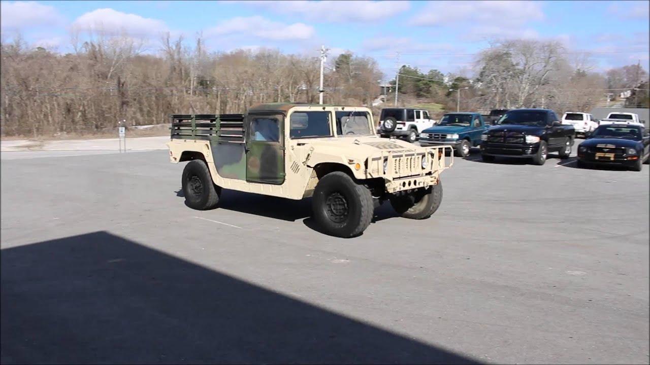 Video 1997 AM General Military Humvee M998