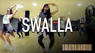 SWALLA - Jason Derulo ft Nicki Minaj Dance ROUTINE Video | @brenodnhansford Choreography