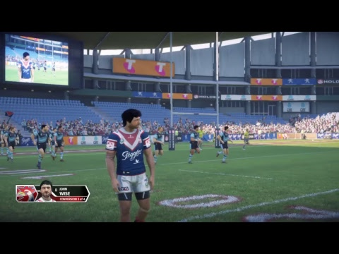 Rugby league live 3 roosters career mode episode 38