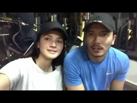 Fatah Amin Kantoi Pergi Gym Bersama Fazura Dan Bermain Kata 'Sayang' Di Set Hero Seorang Cinderella