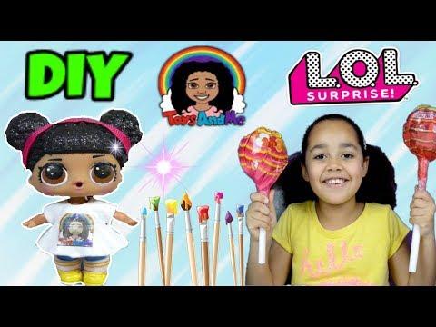 Toys AndME Tiana! Custom LOL Doll!