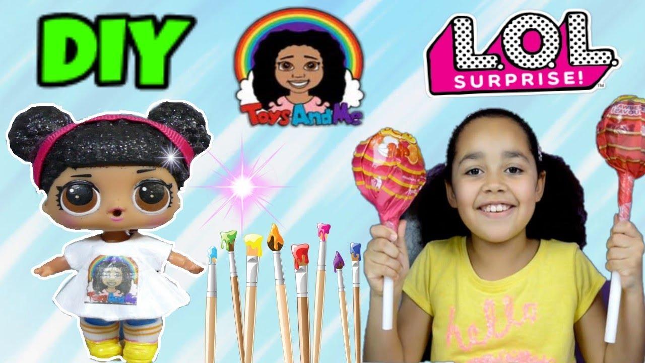 Toys AndME Tiana! Custom LOL Doll! - YouTube