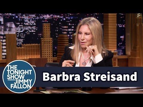 Barbra Streisand Critiques Jimmy's Singing