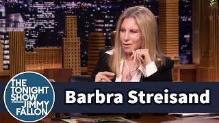 Barbra Streisand Critiques Jimmy's Singing