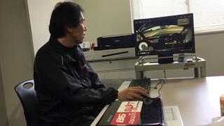 富士スピードウェイで86レーサーズの上級者のドライビングを竹内浩典が解析
