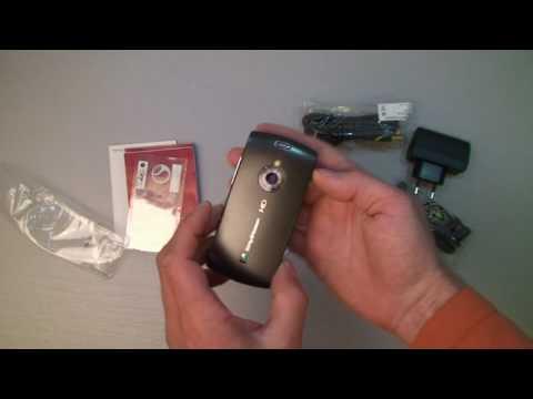 Sony Ericsson Vivaz Pro Unboxing