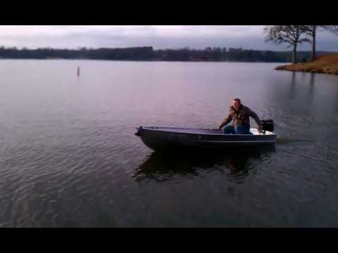 12 Aluminum Boat With 99 Hp Gamefisher Youtube