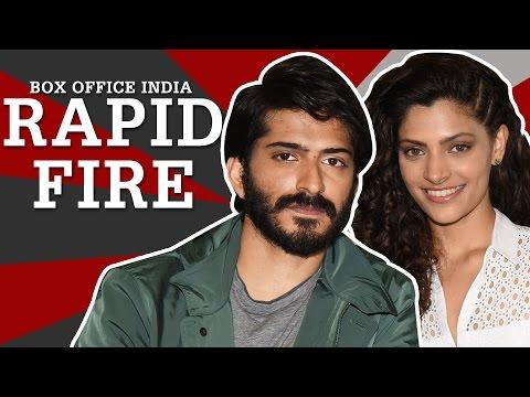 Mirzya | Harshvardhan Kapoor | Saiyami Kher | Rapid Fire | Box Office India
