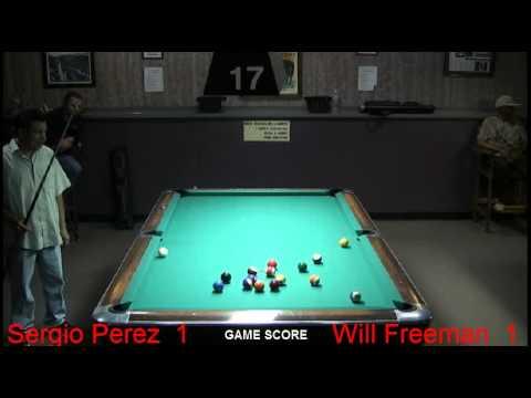Match 8  Will Freeman  vs Sergio Perez   Jet and Jim Clark
