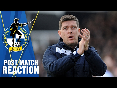 REACTION: Darrell post Sheffield United