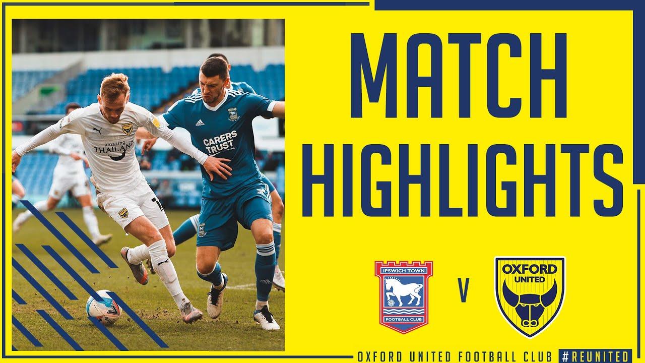 Ипсвич Таун  0-0  Оксфорд Юнайтед видео