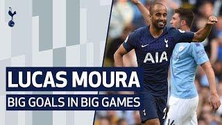 LUCAS MOURA | BIG GOALS IN BIG GAMES | Ajax, Man City, Barcelona