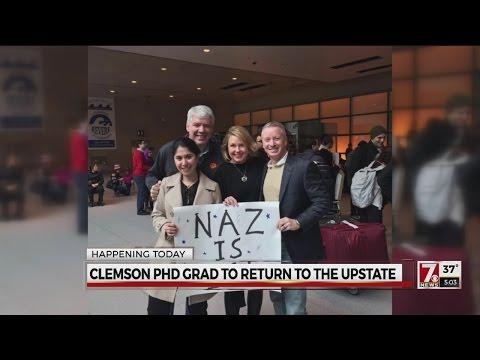 Clemson graduate to return to the Upstate