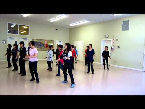 Electric Slide ~ Ric Silvern - Line Dance (Walk thru & danced)