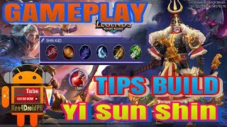 How To Play Yi Sun Shin GAMEPLAY and Build Tips - Mobile Legends
