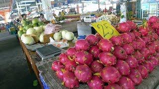 Таиланд 2019. ГДЕ САМЫЙ ДЕШЕВЫЙ рынок в Паттайе? Цены на фрукты и еду в Таиланде 2019.