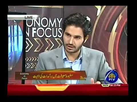 Dr  Baig's live panel discussion on bilateral trade with UK live on PTV News in 'Economy in Focus'
