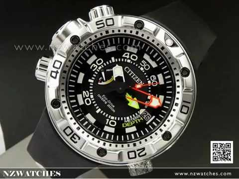 Citizen Promaster Eco-Drive Aqualand 200m Divers Watch BN2021-03E. NZwatches 8134876aede3