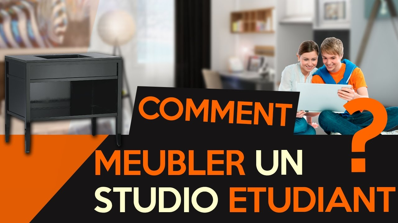 comment bien meubler un studio pour un tudiant audio. Black Bedroom Furniture Sets. Home Design Ideas