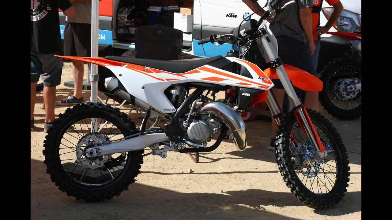 2017 ktm 150 sx first ride | dirt n' iron - youtube