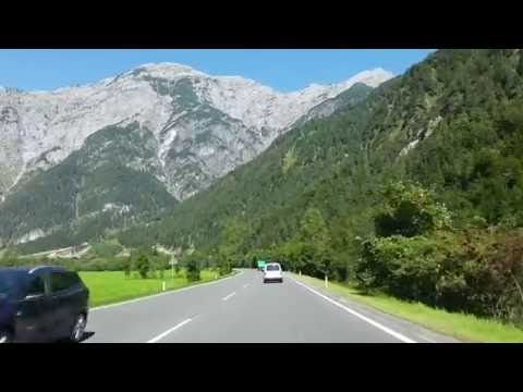 A Drive From Zell am see in Austria