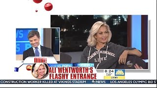 Stephanopoulos Reacts To Wife Ali Wentworth's Boob Flash - GMA
