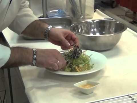 Франческо Касторина. Салат из Морского гребешка