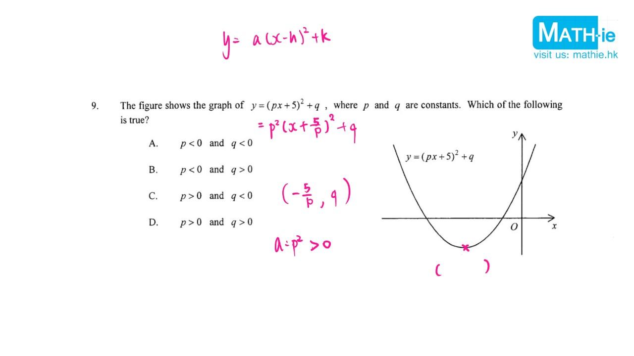2017 DSE Maths Paper 2 MC q9 - YouTube