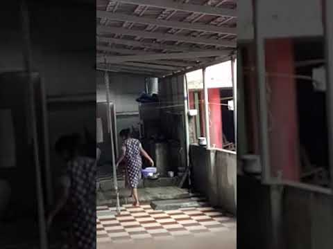 Aunty washing dress thumbnail